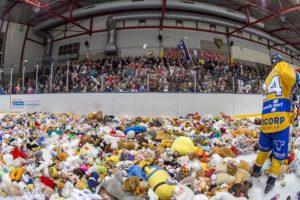 Helaas geen Teddy Bear Toss!