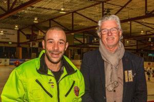 De stewards van Snackpoint Eaters Limburg in de picture